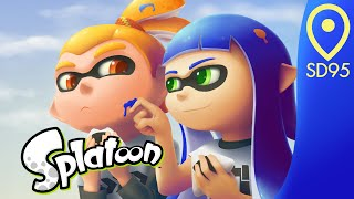 After the battle: Splatoon timelapse painting