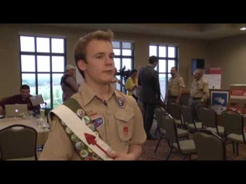 scouts - The Boy Scouts of America threw open its ranks Thursday to gay Scouts but not gay Scout leaders - a fiercely contested compromise that some warned could frac...