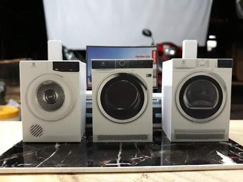 Làm mô hình máy giặt mini