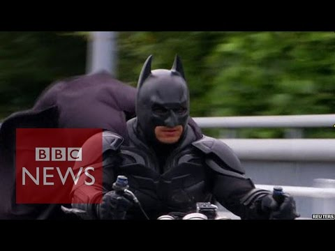 BBC Translator Does His Very Own Batman Voice While Translating Japans Real Life Batman