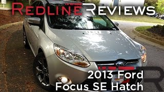 2013 Ford Focus SE Hatch Review, Walkaround, Start Up, Test Drive