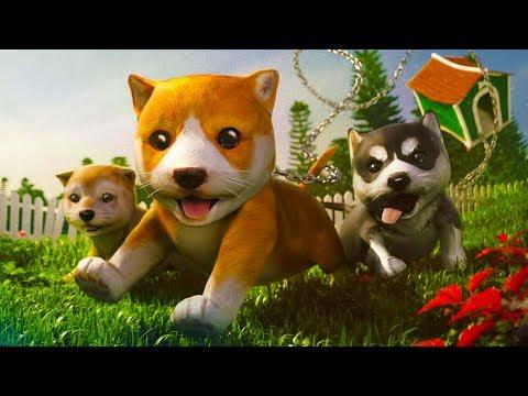 СИМУЛЯТОР Маленькой собаки #1 виртуальный питомец мультяшная игра видео для детей #ПУРУМЧАТА #КИД