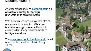 Liechtenstein is one of the few countries in the world receiving the highest ratings from credit rating agencies. If you are interested...