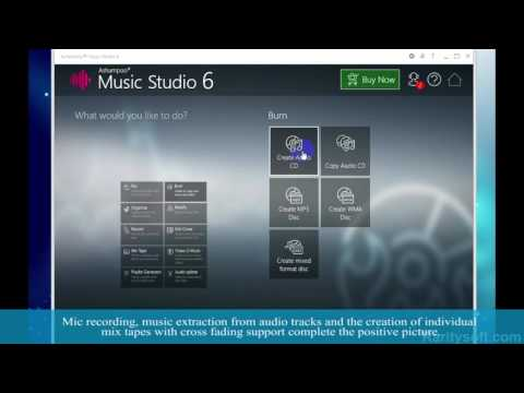 How to create, edit, design and produce your own music - Ashampoo Music Studio 6