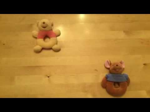WINNIE THE POOH RATTLE TOYS