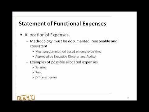 Non Profit - Webinar from Easy Office CEO, Jeff Russell, describing the pillars for successful nonprofit accounting. Includes discussions on the appropriate people, proce...