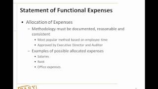Easy Office Webinar: Nonprofit Accounting 101