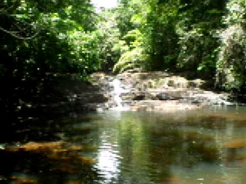 Riacho em Serra Grande, Uruçuca, Bahia