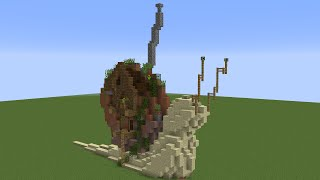 Wacky builds: Giant Snail House!