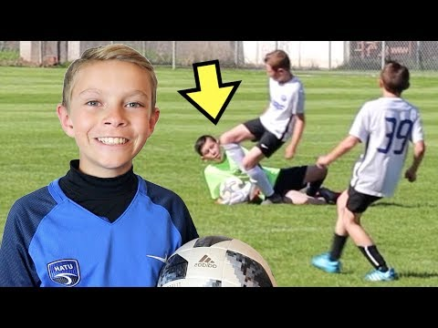 ⚽️KNEE TO THE FACE AT SOCCER GAME ⚽️ Utah Surf 07 Vs Nebo United