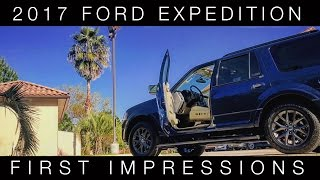 """I just picked up the 2017 Ford Expedition Limited that I ordered a few months ago! Here are my first impressions of the car- wait- truck... SUV?Music:-""""Paint it Black"""" - cover by jwcfree https://www.youtube.com/watch?v=hyyHGDqmymc-""""Daddy Lessons"""" - cover by Isaac Lee https://www.youtube.com/watch?v=vm2KCemU8C0-""""Jolene"""" - cover by Miley Cyrus https://www.youtube.com/watch?v=wOwblaKmyVw-""""Long Live the Chief"""" - Jidenna https://www.youtube.com/watch?v=H_AQFnqMY3E"""