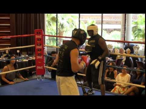 Jeff Mayweather suffers TKO at charity boxing match