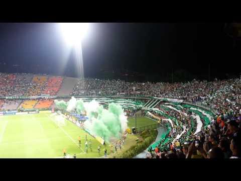 Salida Nacional (1) vs Medellín (0) Septiembre 13 - Los del Sur - Atlético Nacional