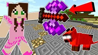 Minecraft: KIDNAPPED BY EVIL CLOUD! (SURVIVE HIS ARENA CHALLENGE!) A HOLE NEW WORLD - Custom Map [3] by PopularMMOs