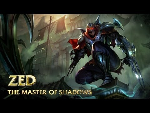 League of Legends Introduces Zed, Master of Shadows