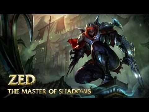 Helden Vorschau: Zed, der Meister der Schatten