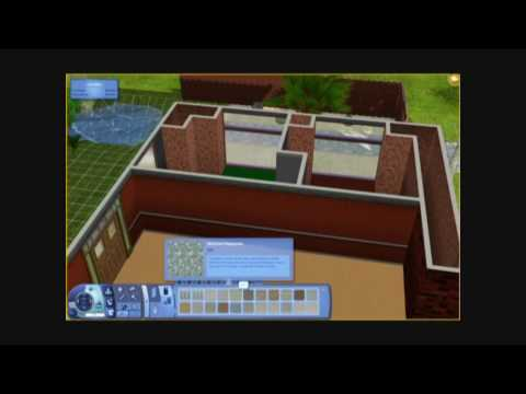 The Sims 3 - Building a House 13 - Carnelian Chalcedony - Part 2 - Architecture