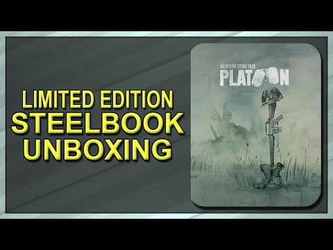 Platoon Limited Edition SteelBook Unboxing