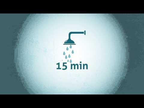 Consumo de um banho