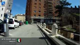 Trieste Italy  City pictures : MTB Street view #44 - Trieste, Italy - City centre and around (1/2)