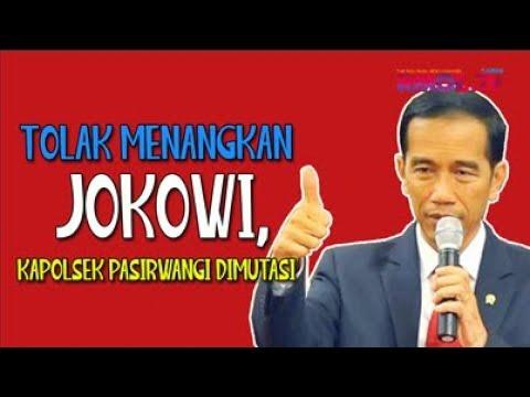 Tolak Menangkan Jokowi, Kapolsek Pasirwangi Dimutasi