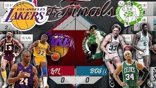 ALL TIME LAKERS TEAM VS ALL TIME CELTICS TEAM - BEST OF 7 SERIES Simulation!