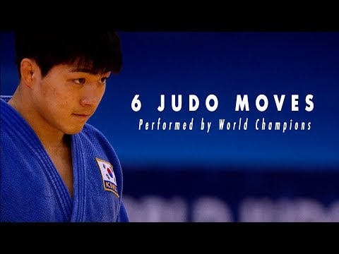 6 Judo moves performed in finals by World Champions