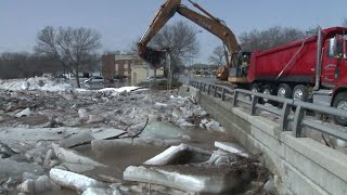 Massive Ice Jams Along the Fond du Lac River Prompt Evacuations