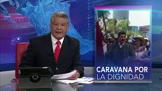 Caravana por la dignidad convocada por Gobierno de Chihuahua