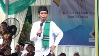"Video LUCU POLL - Tak sengaja Ust Somad mengucap HIDUNG - ""Nanti Salah Lagi"" - Ust Abdul Somad Lc MA MP3, 3GP, MP4, WEBM, AVI, FLV Mei 2019"