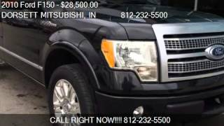 2010 Ford F150 Platinum for sale in Terre Haute, IN 47802 at