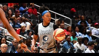 Odyssey Sims Drops Season-High 30 PTS in Loss by WNBA