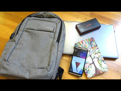 Techie Backpack | USB Charger | 15.6