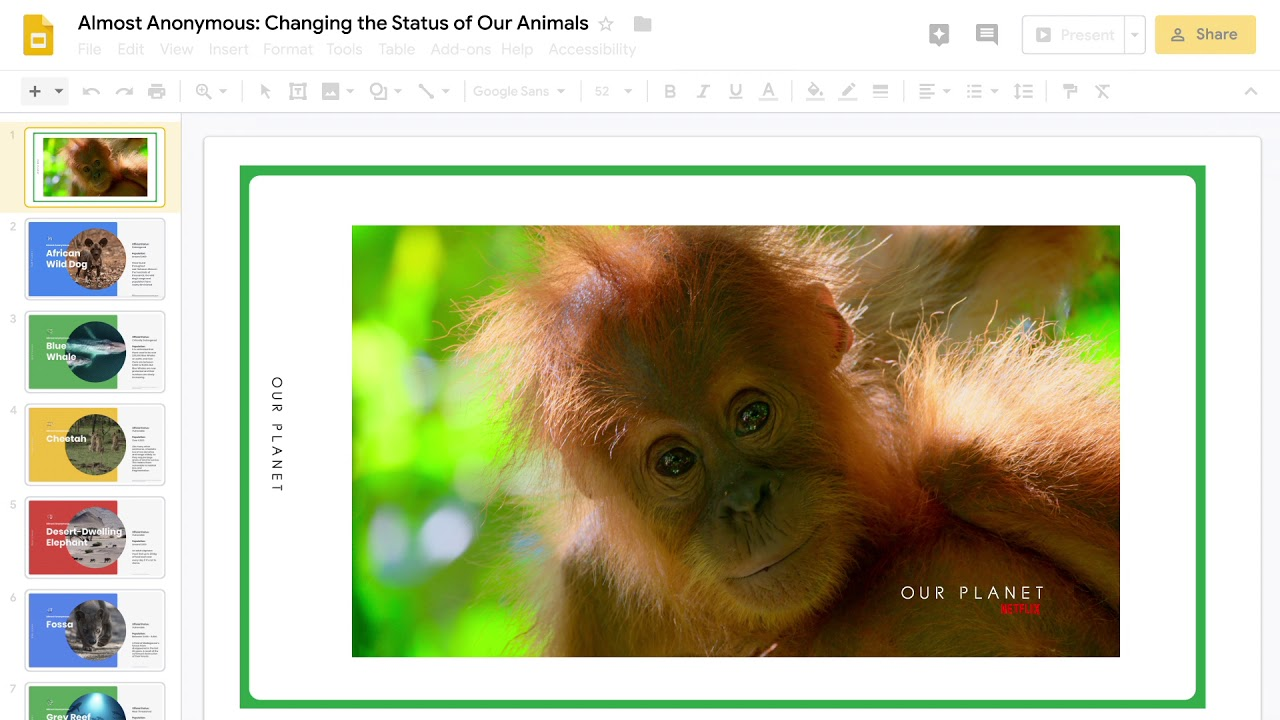 Collaborating to protect nearly anonymous animals
