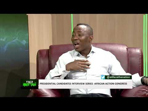 Download AIT interview Presidential Candidate of African Action Congress   Omoyele Sowore