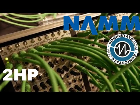 NAMM 2018: 2hp Loads Of New Modules For 2018!