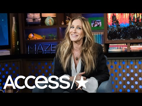 Sarah Jessica Parker Reacts To Kim Cattrall's 'SATC' Co-Star Colleagues Remarks | Access