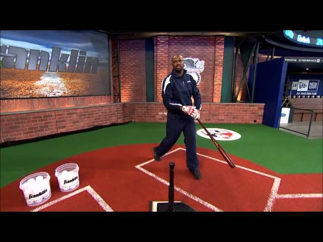 MLB® 2-In-1 Power Spring Swing Batting Tee And Pop-Up