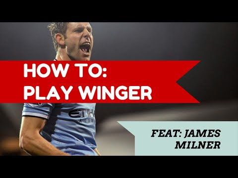 How to play as a forward/winger in soccer