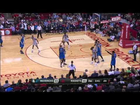 NBA Highlights: Mavericks @ Rockets 1/24/2016
