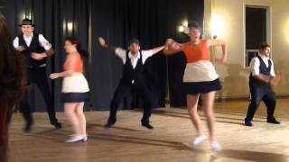 Lindy Hop Revolution performing at the TLH Cabaret 2012