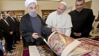 کیهان لندن - کاتولیکتر از پاپ: «بازار هشتادمیلیونی ایران» و ابتکار نخستوزیر ایتالیا