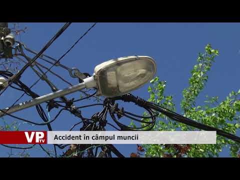 Accident în câmpul muncii