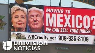 Polémica por anuncio publicitario que sugiere ayuda a quienes quieran mudarse del país si Trump gana