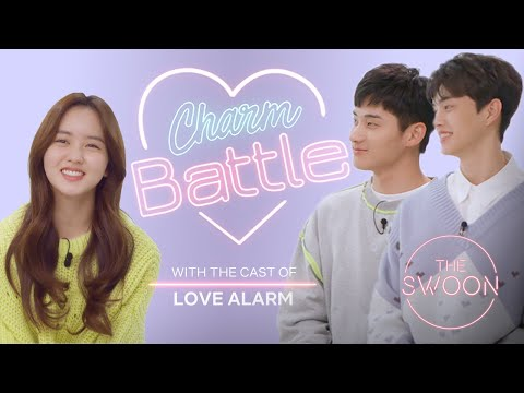 Song Kang and Jung Ga-ram compete to win Kim So-hyun's heart | Love Alarm | Charm Battle [ENG SUB]