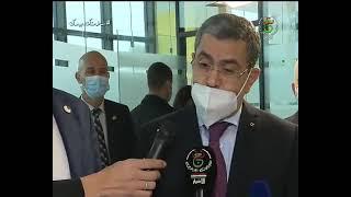 الوزير الأول عبد العزيز جراد يزور معرضا للمؤسسات الناشئة