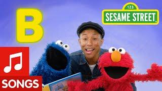 Reizen door te lezen, B is for book Pharrell Williams en Sesamstraat/Sesame Street