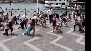 Flashmob funk à Sydney