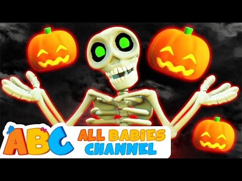 Happy Halloween 🎃  Trick or Treat | Funny Halloween Songs and Rhymes for Kids | All Babies Channel