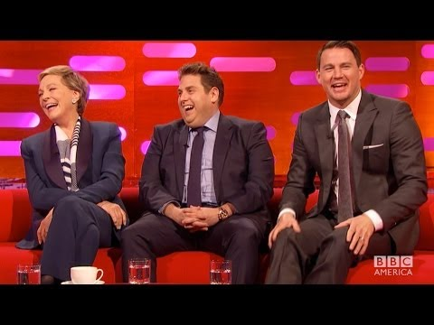 JULIE ANDREWS & CHANNING TATUM on Movie Nudity - The Graham Norton Show on BBC AMERICA